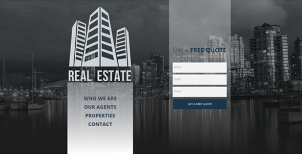 ThemeForest Real Estate Agency Multipurpose Muse Template 9227414
