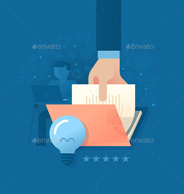 GraphicRiver Creating Quality Content 9227427
