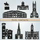 Derby Landmarks and Monuments - GraphicRiver Item for Sale
