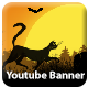 Halloween Youtube One Channel Banner - GraphicRiver Item for Sale