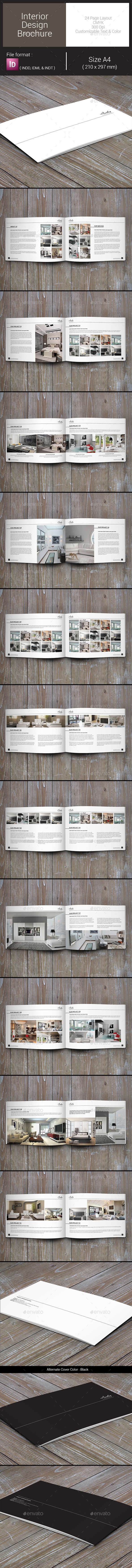 GraphicRiver Interior Design Brochure 9227688