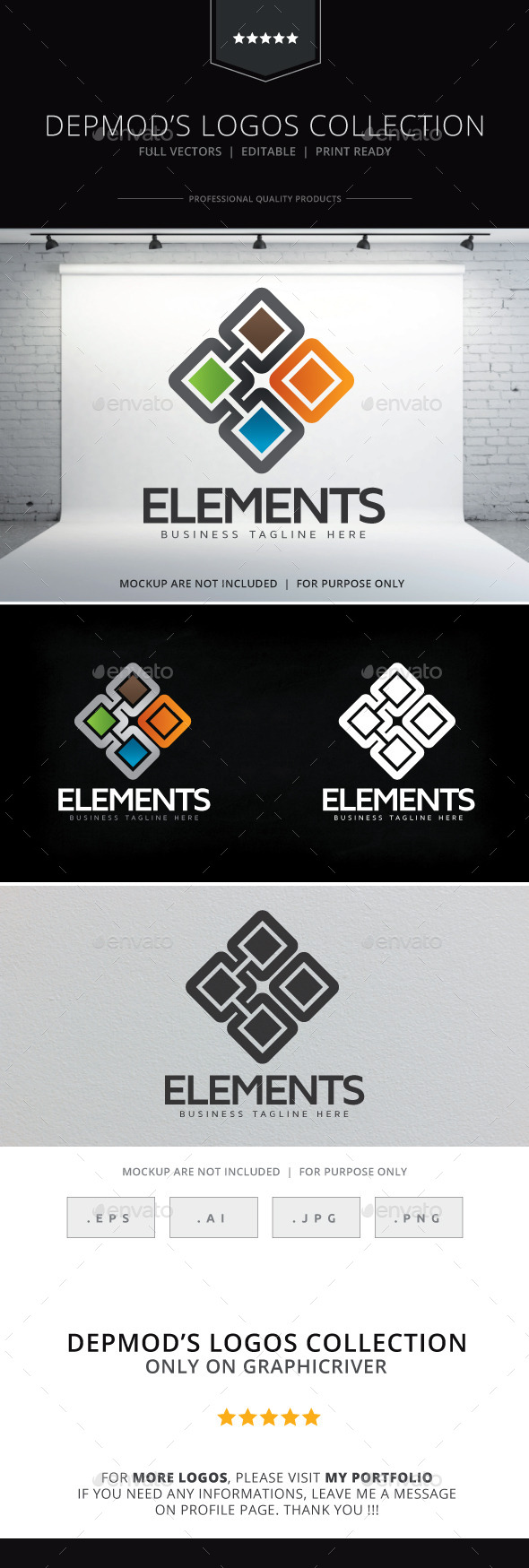 GraphicRiver Elements V.02 Logo 9227718