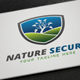 Nature Secure Logo - GraphicRiver Item for Sale