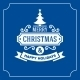 Christmas Retro Typographic Background - GraphicRiver Item for Sale