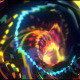 Glowing Snakes Spiral VJ - VideoHive Item for Sale
