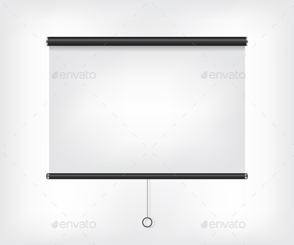 GraphicRiver Projector Blank Screen 9228099