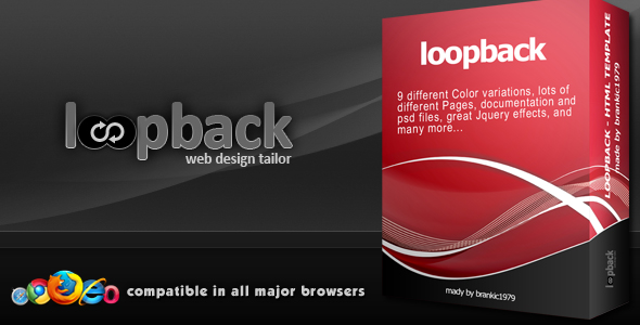 Loopback - 9 in 1 - Portfolio/Business Template