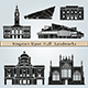Kingston Upon Hull Landmarks and Monuments - GraphicRiver Item for Sale