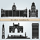 Mumbai Landmarks and Monuments - GraphicRiver Item for Sale