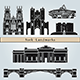 York Landmarks and Monuments - GraphicRiver Item for Sale