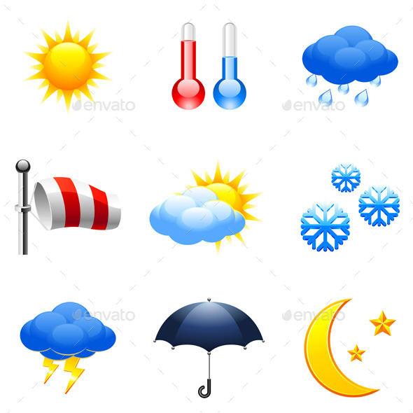 GraphicRiver Weather Icons 9228680