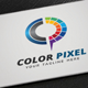 Color Pixel Logo - GraphicRiver Item for Sale