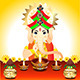 Diwali Background With Ganesha  - GraphicRiver Item for Sale