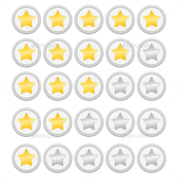 GraphicRiver Rating Stars 9229239
