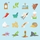 Spices icons flat - GraphicRiver Item for Sale