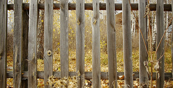 Village Wooden Fence