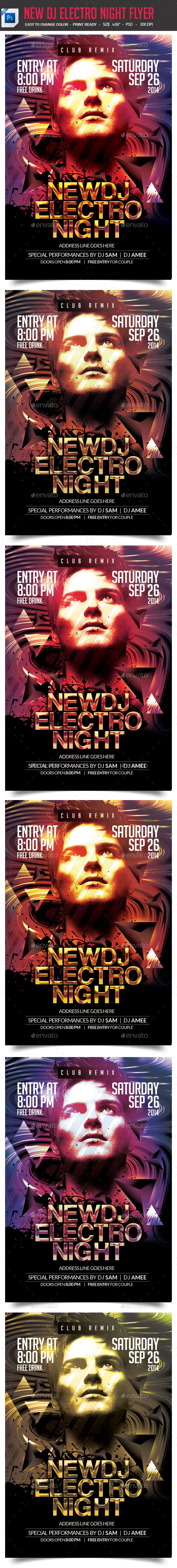 GraphicRiver Guest DJ Party Flyer 9229802