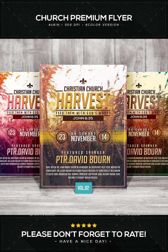 GraphicRiver Church Premium Flyer V.2 9229817