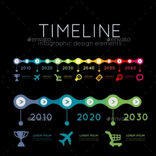 GraphicRiver Timeline Infographic 9229874