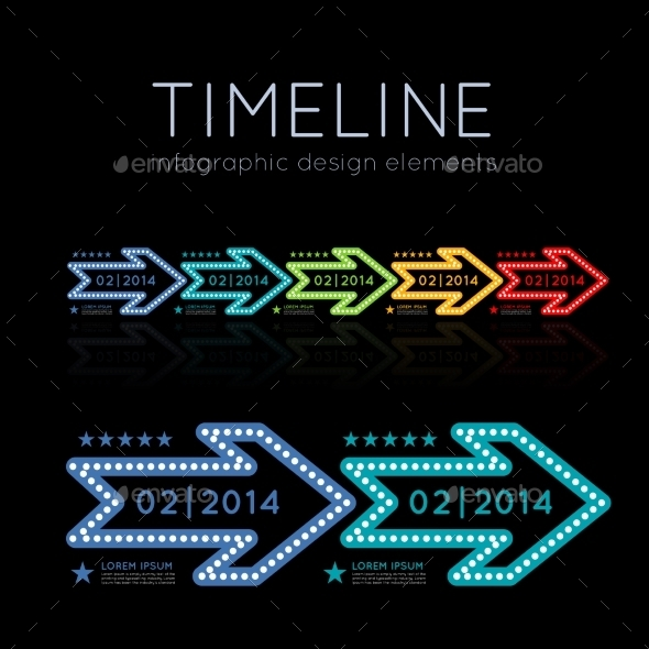 GraphicRiver Timeline Infographic 9229888