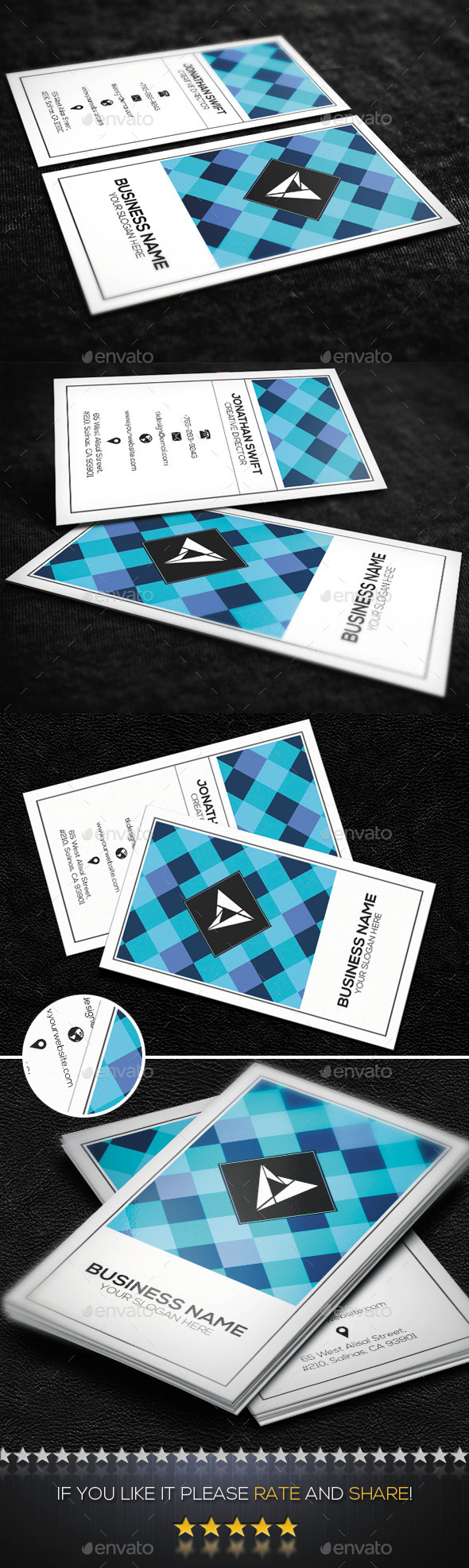 GraphicRiver Classic Corporate Business Card No.01 9230018