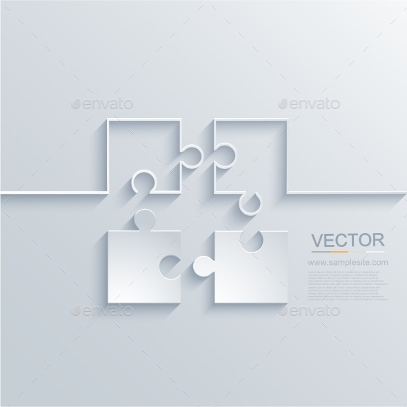 GraphicRiver Puzzle Background 9230033