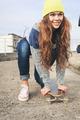 A beautiful skater woman - PhotoDune Item for Sale