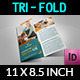 Veterinarian Clinic Tri-Fold Brochure Vol. 3 - GraphicRiver Item for Sale