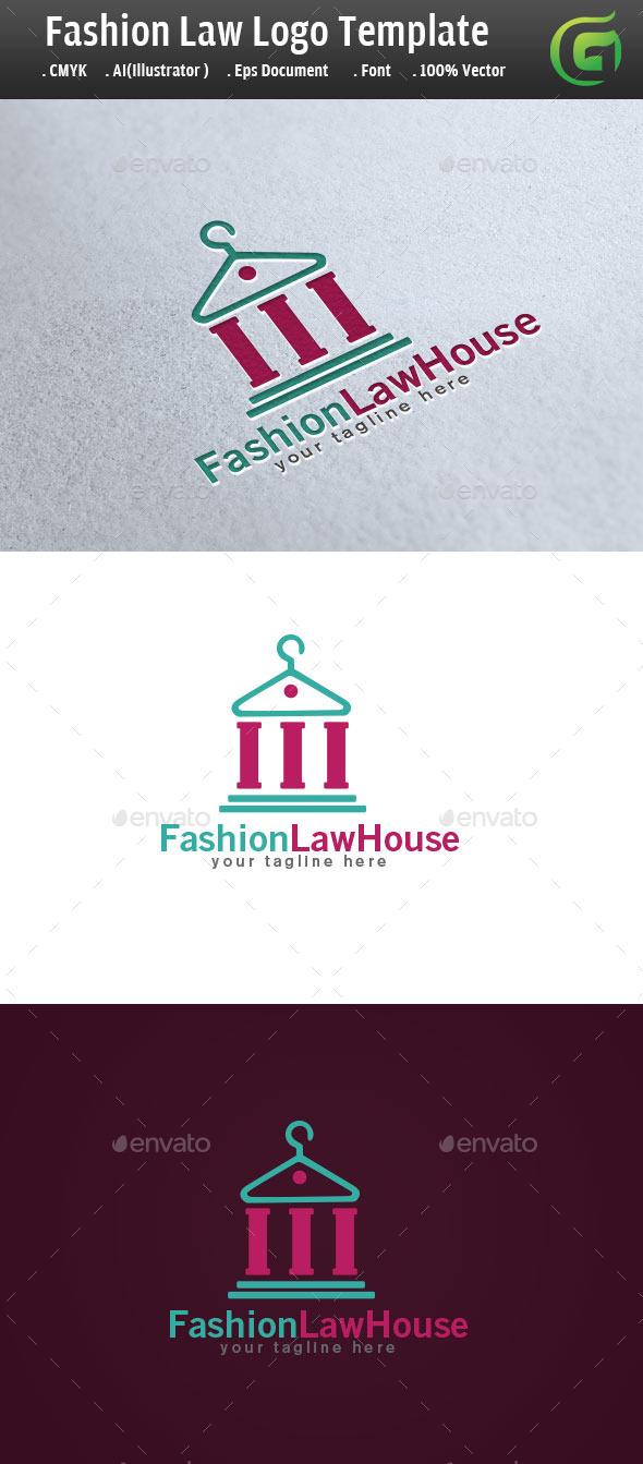 GraphicRiver Fashion LawHouse Logo 9230577