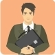 Set of Avatars People Occupations - GraphicRiver Item for Sale