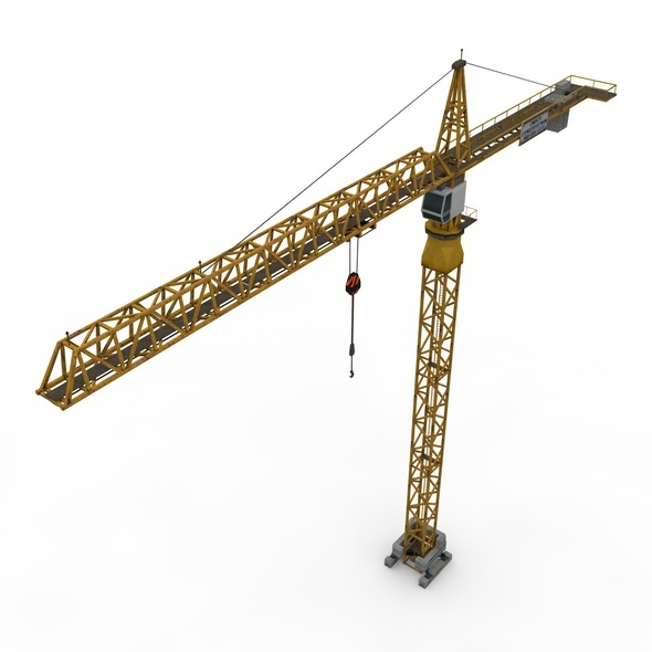 3DOcean Tower Crane 9231124