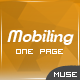 Mobiling - App Landing Page Muse Template - ThemeForest Item for Sale