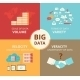 Infographic Flat Concept Illustration of Big Data  - GraphicRiver Item for Sale