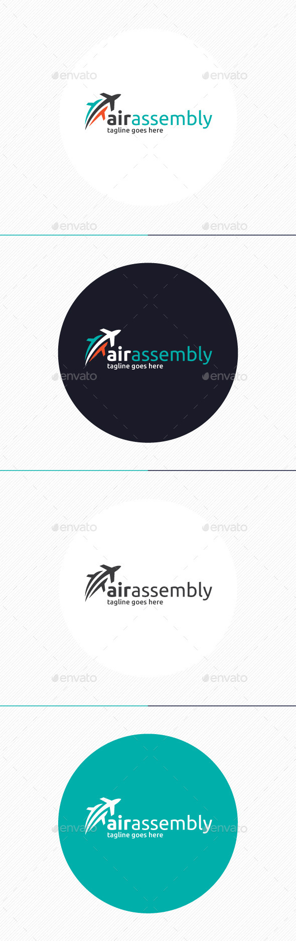 GraphicRiver Air Assembly Logo 9231253