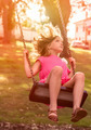 Girl on a swing - PhotoDune Item for Sale