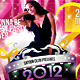 2012 Sensational New Year Dance Music Party Night - GraphicRiver Item for Sale