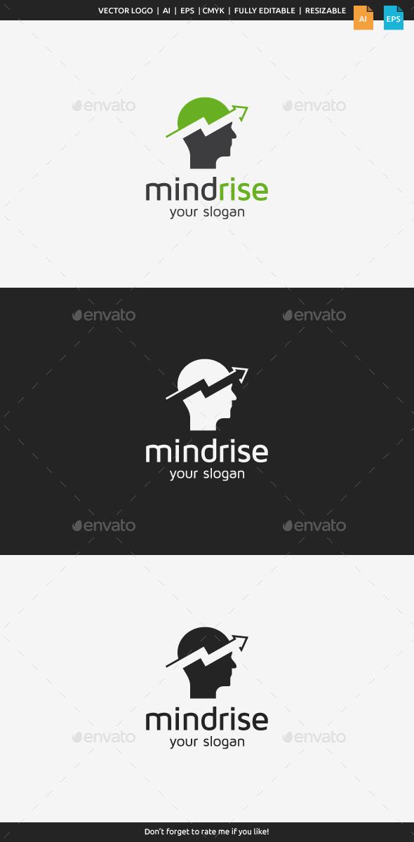 GraphicRiver Mind Rise Logo 9231603