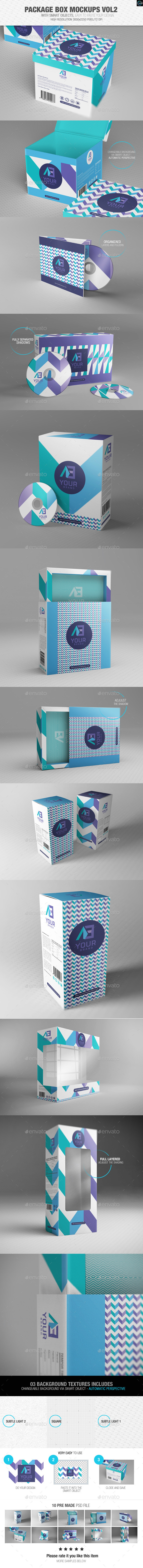 GraphicRiver Package Box Mockups Vol2 9231994