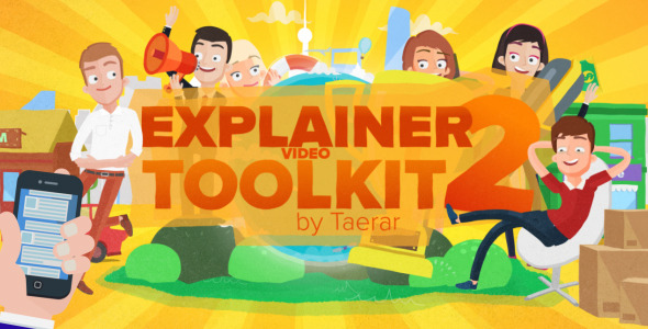 explainer video script template - explainer video toolkit 2 after effects project files