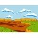 Landscape of the Desert - GraphicRiver Item for Sale
