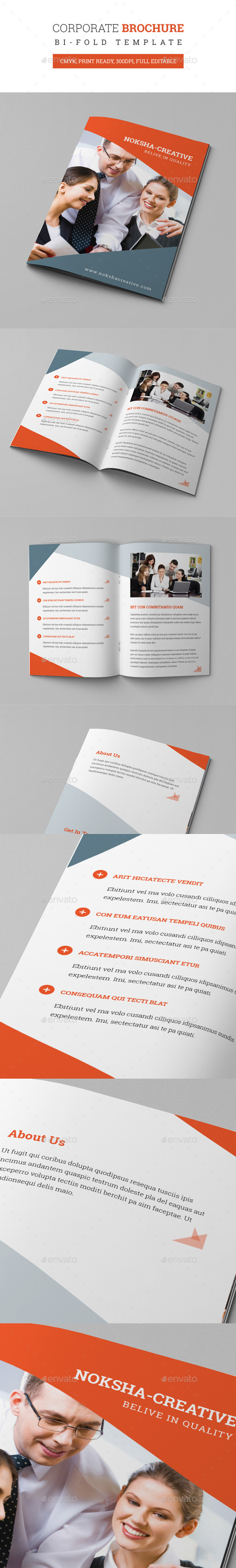 GraphicRiver Bi-Fold Brochure 9232146