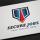Secure Jobs Logo - GraphicRiver Item for Sale