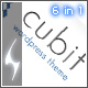 Cubit 6 in 1- Business & Portfolio Theme
