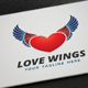 Love Wings logo - GraphicRiver Item for Sale