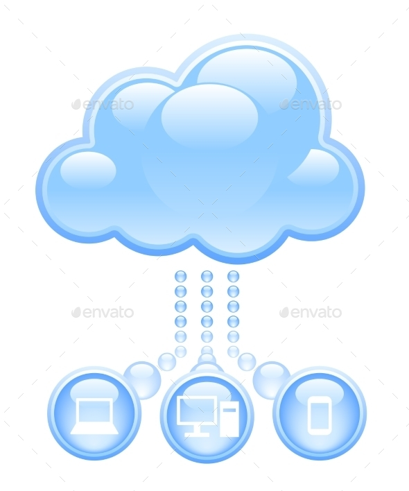 GraphicRiver Cloud Computing 9234344