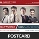 Agency Corporate Business Postcard Template - GraphicRiver Item for Sale