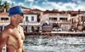 Handsome man enjoying cityscape - PhotoDune Item for Sale