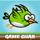 Fatty Bird Game Character Sprite Sheets - GraphicRiver Item for Sale