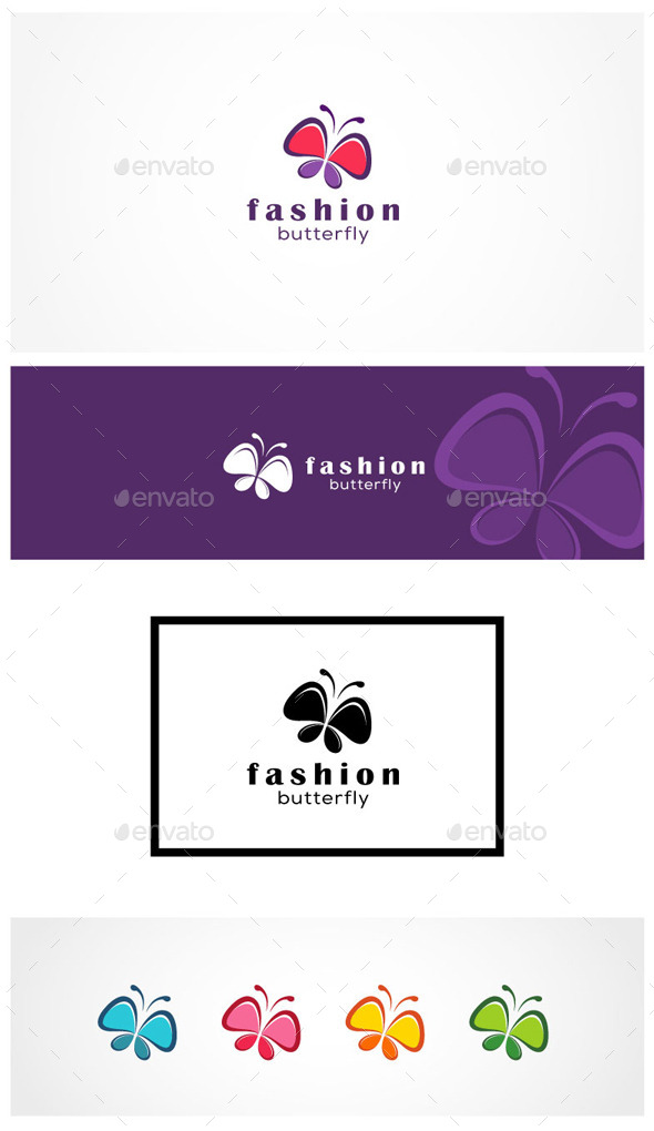 GraphicRiver Fashion Butterfly 9235293
