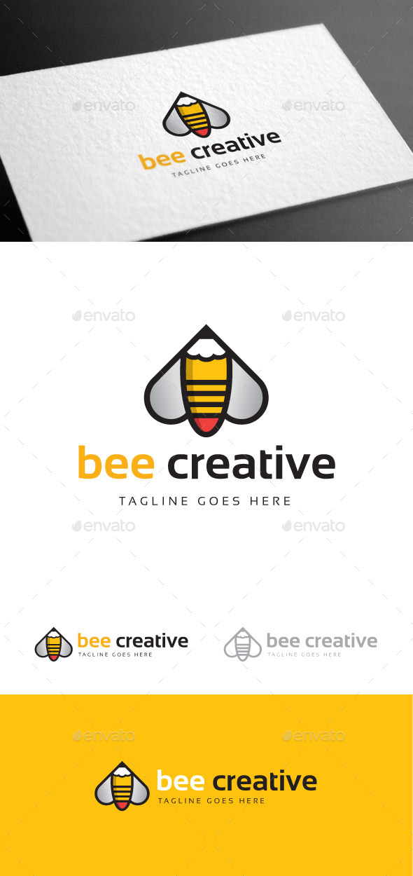 GraphicRiver Bee Creative Logo Template 9235364